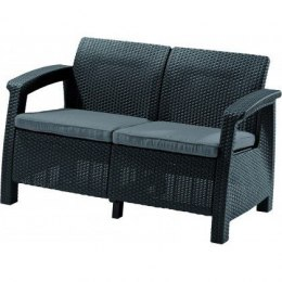 Sofa CORFU LOVE SEAT - antracyt