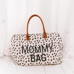 MOMMY BAG CHILDHOME TORBA PODRÓŻNA LEOPARD #T1